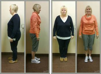 Lori lost over 50 lbs. in 4 months
